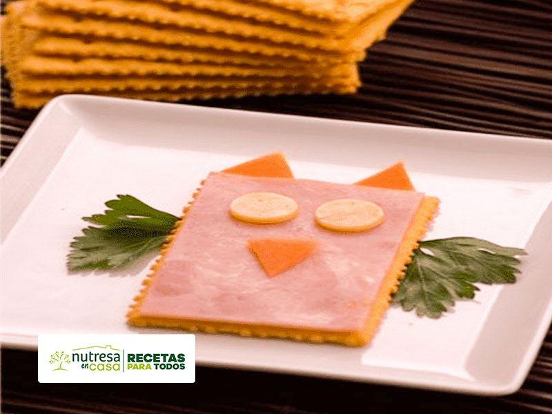 Buhito de jamon receta con galletas saltin noel
