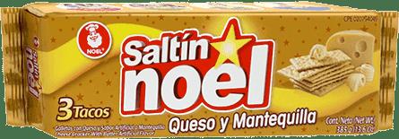 Galletas Saltin Noel Queso y Mantequilla