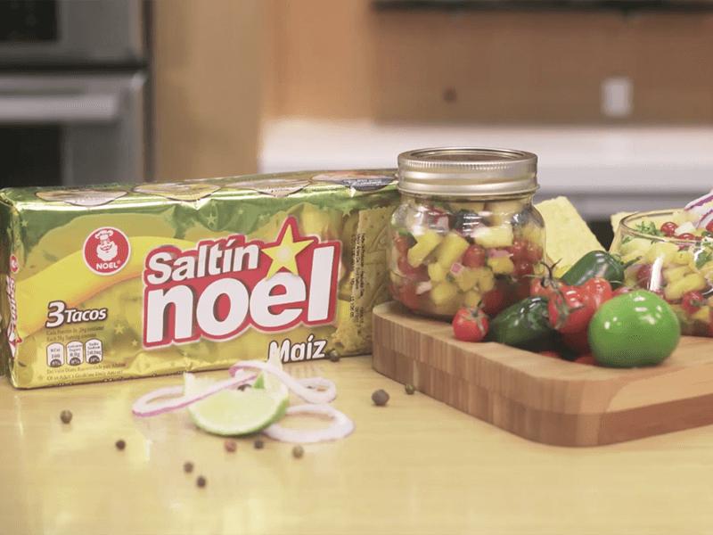 Receta saltin noel conserva de piña y tomate