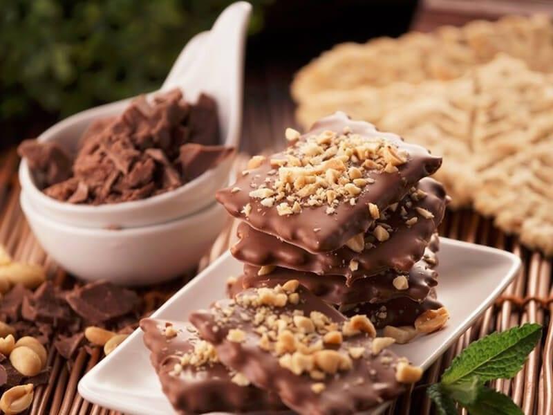 Receta saltin noel turron de chocolate