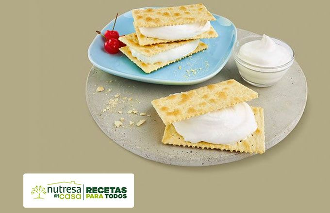 Receta sandwich de merengue