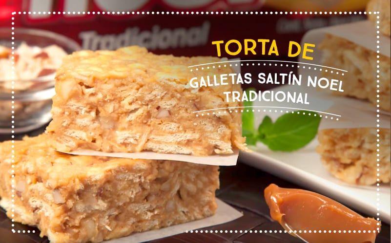 Torta de Galletas Saltín Noel Tradicional