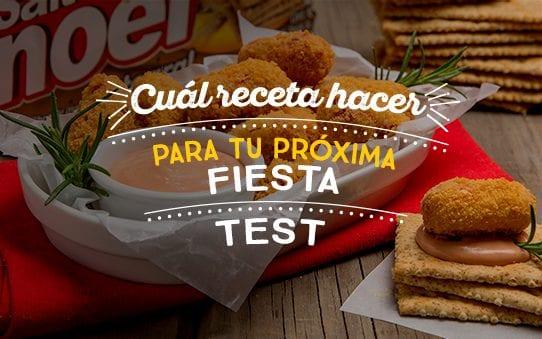 Destacada test receta para tu proxima fiesta